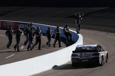 15 March 2015 - Kevin Harvick wins the NASCAR Sprint Cup Series Campingworld.com 500 race at Phoenix International Raceway.
