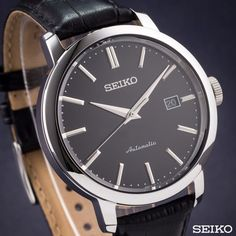 Nice Watches, Watches For Men, Seiko Presage, Seiko Automatic, Selection, Watch Companies, Seiko Watches, Omega Watch, Hobbies