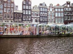 Amsterdam is home to some amazing flea markets that provide a great glimpse at the city's culture. #amsterdam
