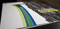 Design graphique couverture du Rapport annuel 2013-2014 de la Fédération des producteurs acéricoles du Québec. Graphic Design cover.