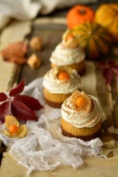 Pumpkin Mini Cheesecakes