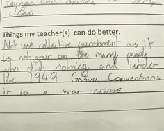 """Mason Cross on Twitter: """"My daughter actually submitted this feedback at school. Not sure if I should ground her or buy her ice cream... https://t.co/4v8Gjb9riv"""""""