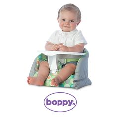 On day 6/30 of our @boppycompany giveaway, we're treating one cutie patootie to a Boppy Baby Chair Prize Pack! Head to pnmag.com/boppy to enter for your chance to win!