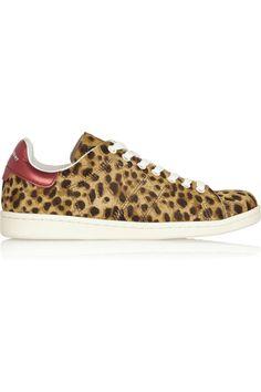 Isabel MarantÉtoile Bart leopard-print calf hair sneakers