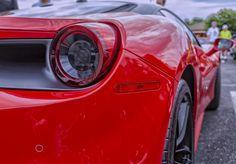https://flic.kr/p/JXB9gr   Ferrari Red   Red Ferrari at the 5th Anniversary Coffee and Cars car show in Oklahoma City.