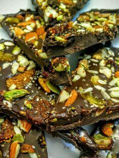 Dry Fruit Sugarfree Chocolate Bark