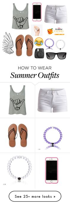 """"" by mira-81k on Polyvore featuring Pieces, Abercrombie & Fitch, Lilly Pulitzer, Ray-Ban, women's clothing, women, female, woman, misses and juniors"