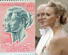 Charlène, Princesse de Monaco, avec Son mari