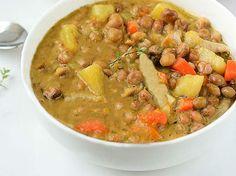 Jamaican Gungo Peas (Pigeon Peas) Soup