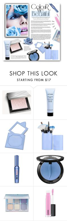 """Blue Eyes"" by lady-of-rose ❤ liked on Polyvore featuring beauty, Marlies Dekkers, Burberry, Givenchy, Aspinal of London, Benefit, Sephora Collection, Anastasia Beverly Hills, MAC Cosmetics and Old Navy"