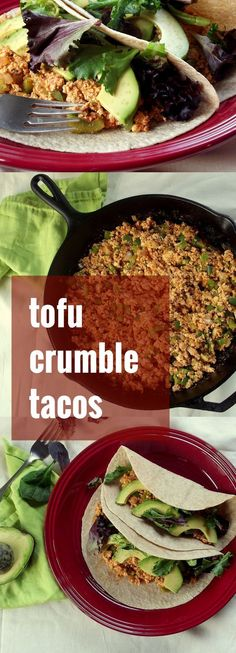 Learn how to freeze tofu, for a delicious crumbly texture that's perfect for tacos! Then go and make these scrumptious tofu tacos!