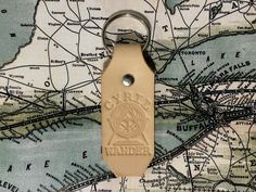 THE CYRIL WANDER KEY CHAIN Sore Hands, Old Tools, Key Chain, Wander, All Things, Gift Ideas, Leather, Gifts, Antique Tools