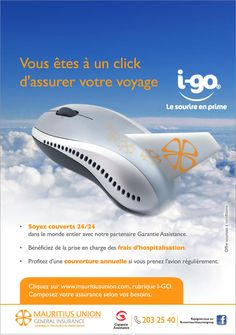 Mauritius Union General Insurance: I-Go, votre assurance voyage en ligne ! Tél: 203 2540