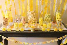 Yellow Birthday party theme
