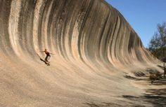 Wave Rock, Western Australia, Australie