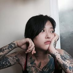 Asian tattoos, from classical tattoos to the latest minimalist ideas on the Asian market in the tattoo world, will be discussed in this category. Tattoo Girls, Asian Tattoo Girl, Asian Tattoos, Hot Tattoos, Great Tattoos, Body Art Tattoos, Girl Tattoos, Creative Tattoos, Japanese Tattoos