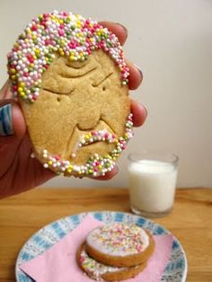 "A biscuit inspired by Alan Sugar and ""The Apprentice"" by Nikki McWilliams. You're Fired!"