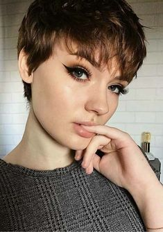 Browse this page to see the classic ideas of short pixie haircuts to try in 2018. Short haircuts are best source of inspiration for women just because they are easy to handle. Professional and busy women who dont have too much time style their hair, they can use to sport best styles of short pixie haircuts nowadays for cute appearance.