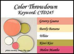 Color Throwdown: Color Throwdown #245
