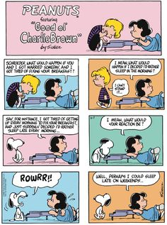 Peanuts ~ June 7, 2015  (originally published on June 9, 1968)