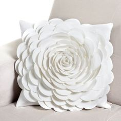Another inspiring pillow, Z Gallerie's Rose Pillow ($49)