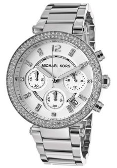 Women's Chronograph Silver Textured Dial Stainless Steel Absolutely the one one I want !