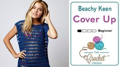Crochet Beach Cover Up For beginners and beyond, learn to crochet this cute Beach Cover Up using a free pattern