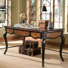 Vintage inspired writing desk.