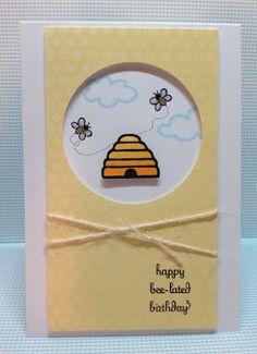 Stamped and Delivered: Bee-lated #amusestudio #stampedanddelivered