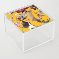 Smoragdova Tabletop | Society6 Creative Coffee, London Art, Art Day, Insta Art, Tabletop, Toy Chest, Pop Art, Saatchi Art, Behance