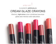 Shine perfected. Electric, high shine color combines a luxurious glossy look with intense saturation and impressive staying power. Enriched with antioxidant Vitamins C and E as well as conditioning Mango Oil and Shea Butter for nourishing protection. Our crayon-inspired chunky pencil with built-in sharpener delivers precision and convenience in one.
