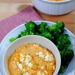 Buffalo Chicken Quinoa Mac and Cheese