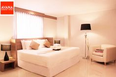 New room in Economic price of the Avana Hotel Bangkok, nearby new airpeort.