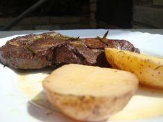 Kemencében sült rozmaringos tarja Pork, Kale Stir Fry, Pork Chops