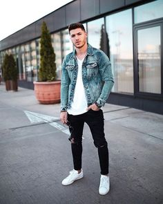 Men-To-Wear-This-Fall/ stylish mens outfits, trendy mens fashion, casual ou Trendy Mens Fashion, Stylish Mens Outfits, Dope Fashion, Urban Fashion, Men Fashion, Fashion Black, Fashion Ideas, Fashion Styles, Fashion Menswear