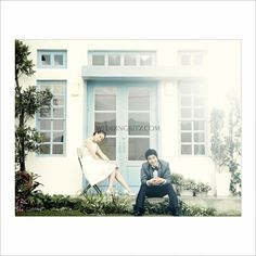 Korea Pre-Wedding Photoshoots by WeddingRitz.com » Bon Voyage (Studio of Mirror&Window in HaNam) korea pre-wedding photoshoot studio
