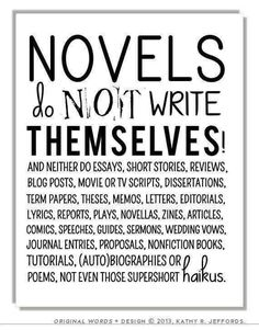 2015 will be a year of writing!