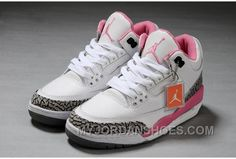 http://www.myjordanshoes.com/authentic-air-jordan-3-white-pink-girls-size-christmas-deals.html AUTHENTIC AIR JORDAN 3 WHITE PINK GIRLS SIZE CHRISTMAS DEALS Only $110.00 , Free Shipping!