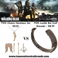 Are you ready for tomorrow??? We Are!!!!! Check our Walking Dead products at http://ift.tt/2zMbFN6 #innovativeviraltrends #thewalkingdead #twd #twdfans #twdthelaststand #twdseason8 #rickgrimes #darryldixon #michonne #negan #lucillebat #lucille #jewelry #fashion #fashionjewelry #amc #amcthewalkingdead #amctwd #walkingdead #twdfamily #zombie #zombies #bracelet #cuffbracelets #jewelrycharms #instagood #instagram #teamgrimes #teamnegan