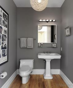 Best Grey Paint For Small Bathroom