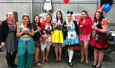 Disney theme hens party