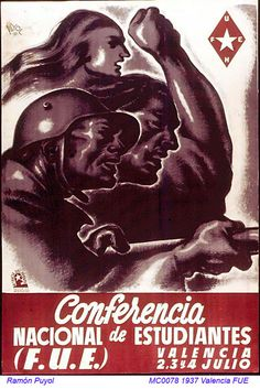 Spain - 1937. - GC - poster - Ramón Puyol
