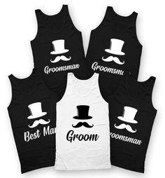 Groom Tank Top Groomsman Tank Bachelor Party Shirts Best | Etsy