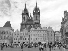 Old Town Square - Prague  Staroměstské náměstí - Praha