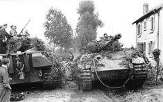 Panther at Normandy #worldwar2 #tanks
