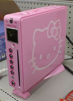 hello kitty hard drive!!! adds 5000%  more kawaii to your data
