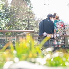 「結婚しました。」 #結婚式 #結婚式準備 #結婚式写真 #前撮り #前撮りアイテム #日本庭園 #和装 #ウエディングフォト #ウエディング #wedding #weddingphotography #bridal #kimono #大仙公園 #プレ花嫁 #結婚しました #officecircle #osaka