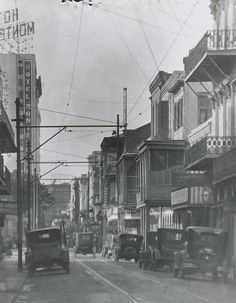 Royal Street - 1920s, Vintage New Orleans