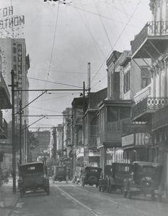 Royal Street - 1920s, Vintage New Orleans