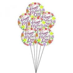 Dazzle your Mom by sending this Mothers Day Balloons. Note : For hospital deliveries Latex will be substituted by Mylar balloons. Balloons arrangements are prepared by our spe Order Balloons, Send Balloons, Balloons Online, Mylar Balloons, Best Mothers Day Gifts, Happy Mothers Day, Gifts For Mom, Balloon Shop, Balloon Gift